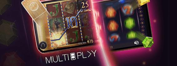 Leo vegas multiplay pelaa kahta kolikkopeliä samanaikaisesti