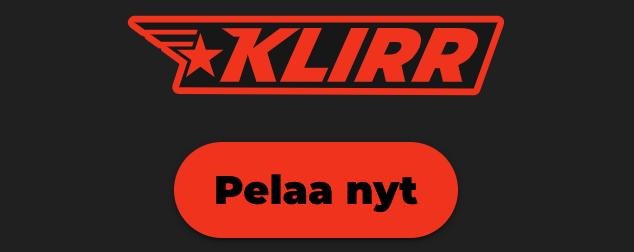 Klirr casino ja pelaa heti ilman rekisteröitymistä