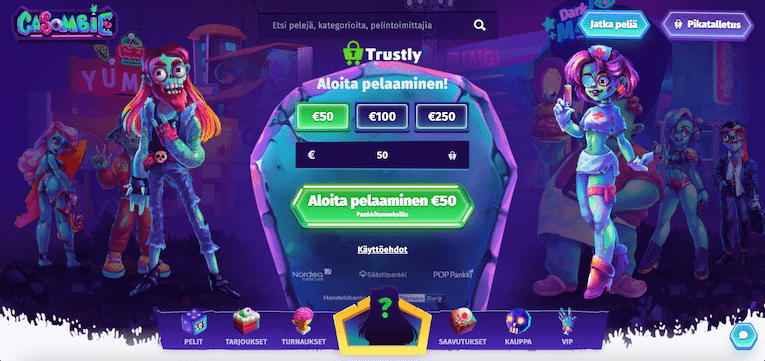 casombie casino arvostelu uudetnettikasinot365