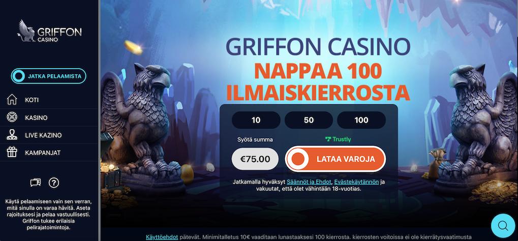 griffon casinon etusivu