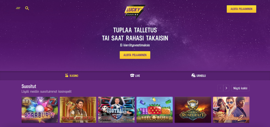 lucky casino arvostelu nettikasinoopas.com